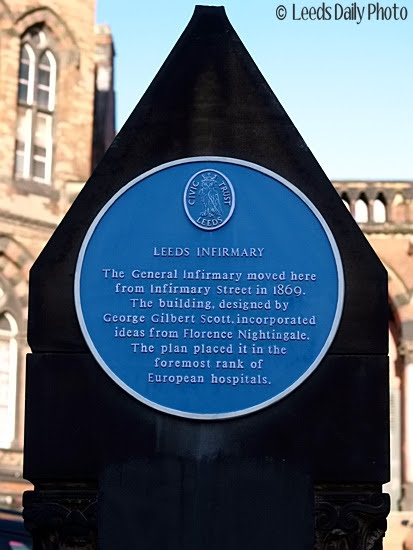 LGI Blue Plaque Leeds