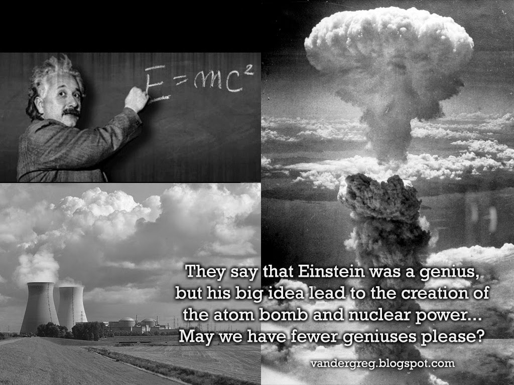 albert einstein thoughts that led to the creation of the atomic bomb Albert einstein signed a letter initially authored by physicist leo szilard that warned president roosevelt of the german studies of the atomic bomb and ultimately led to the creation of the .