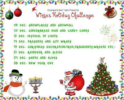 christmas nail challenge