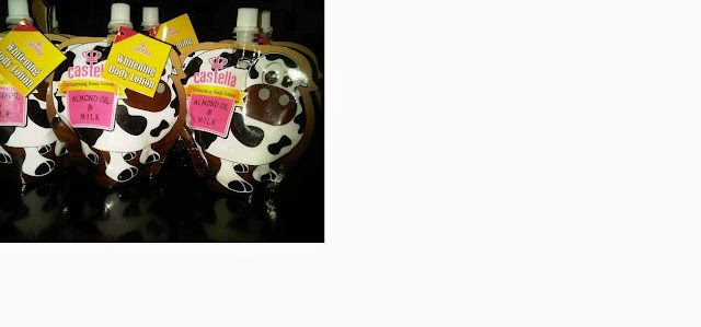 Castella Whitening Body Lotion (Almond Oil & Milk)