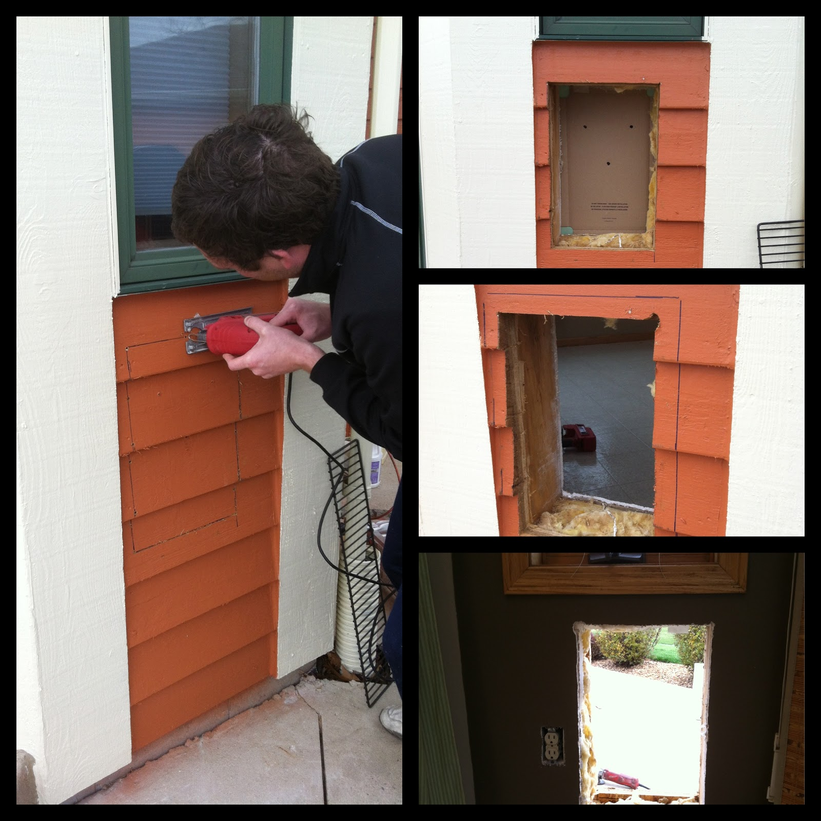 Doggie Door Installation