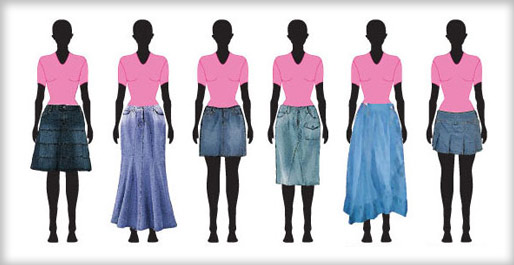 Trend Of Jeans Skirts