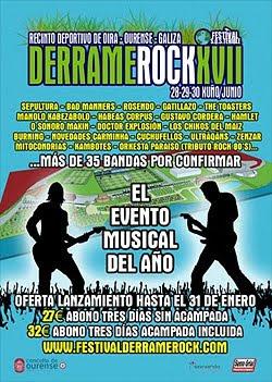 Sepultura, Gatillazo y Orkesta Paraíso al Derrame Rock Festival 2012
