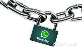 Perlunya memberikan Keamanan pada Aplikasi WhatsApp