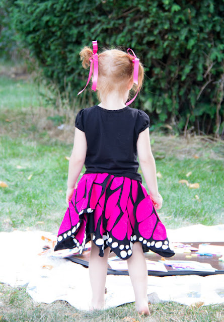 butterfly costume DIY
