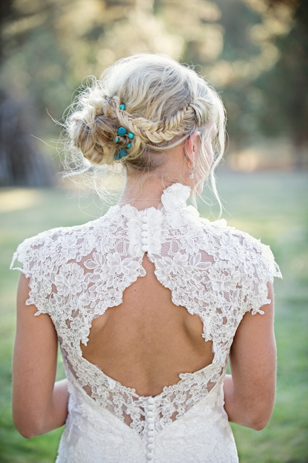 I heart wedding dress lace back wedding gowns for Wedding dresses lace back