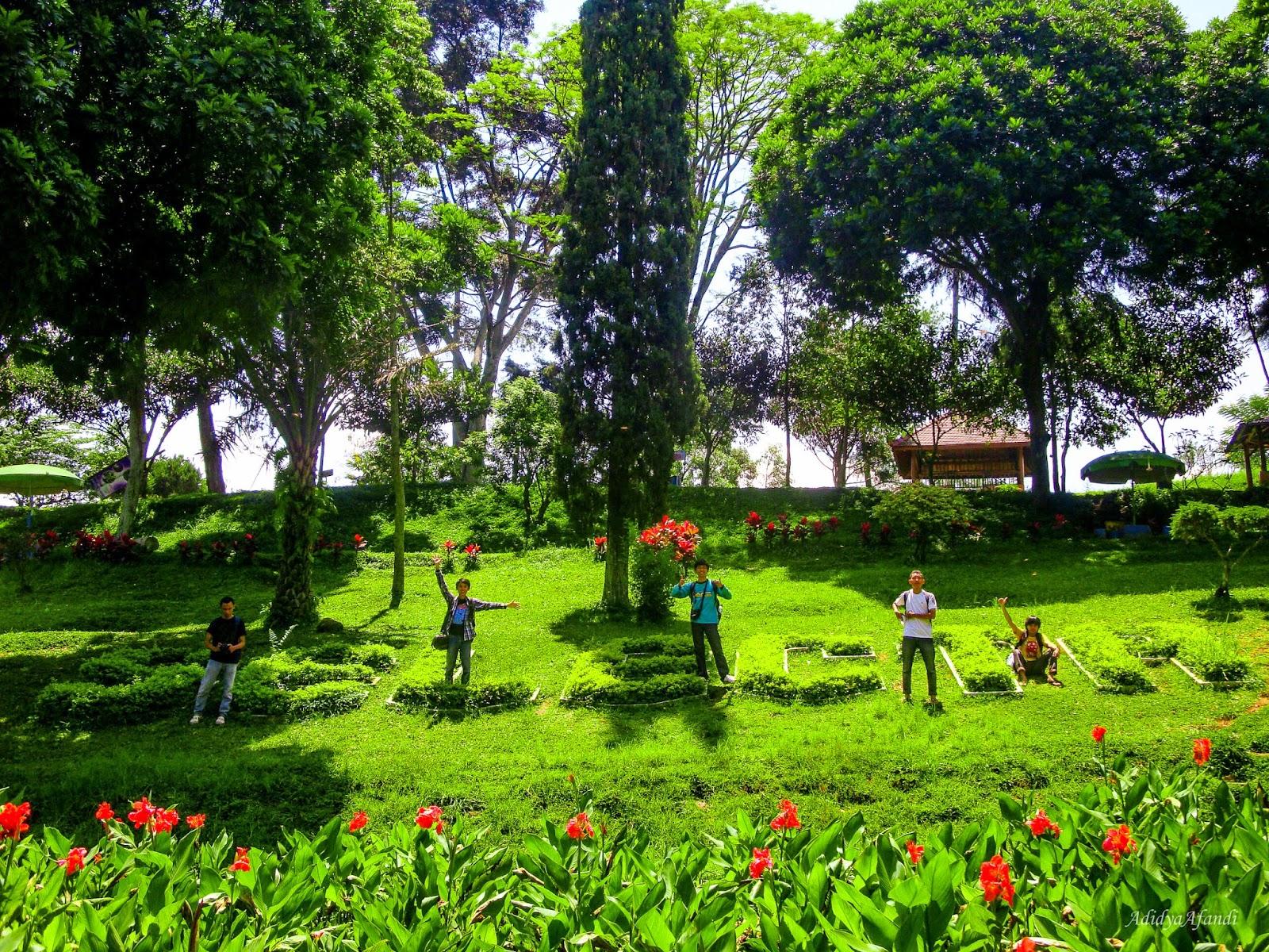 catatan perjalanan flowers garden selecta