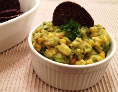 asian corn guacamole