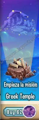 imagen del primer segmento de la isla olimpus de dragon city