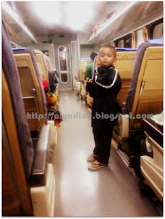 Dalam Train Keretapi