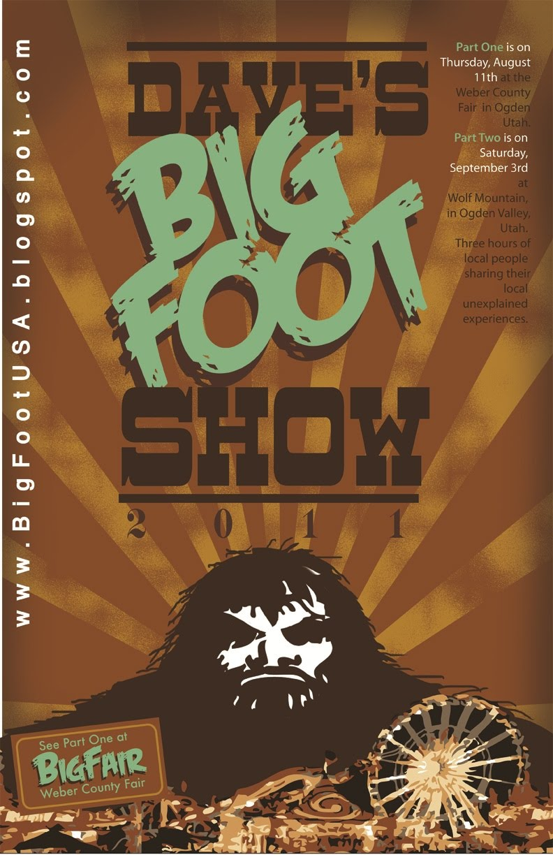 Dave's BigFoot Show at the Fair