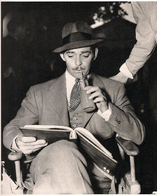 Clark Gable - leer es sexy