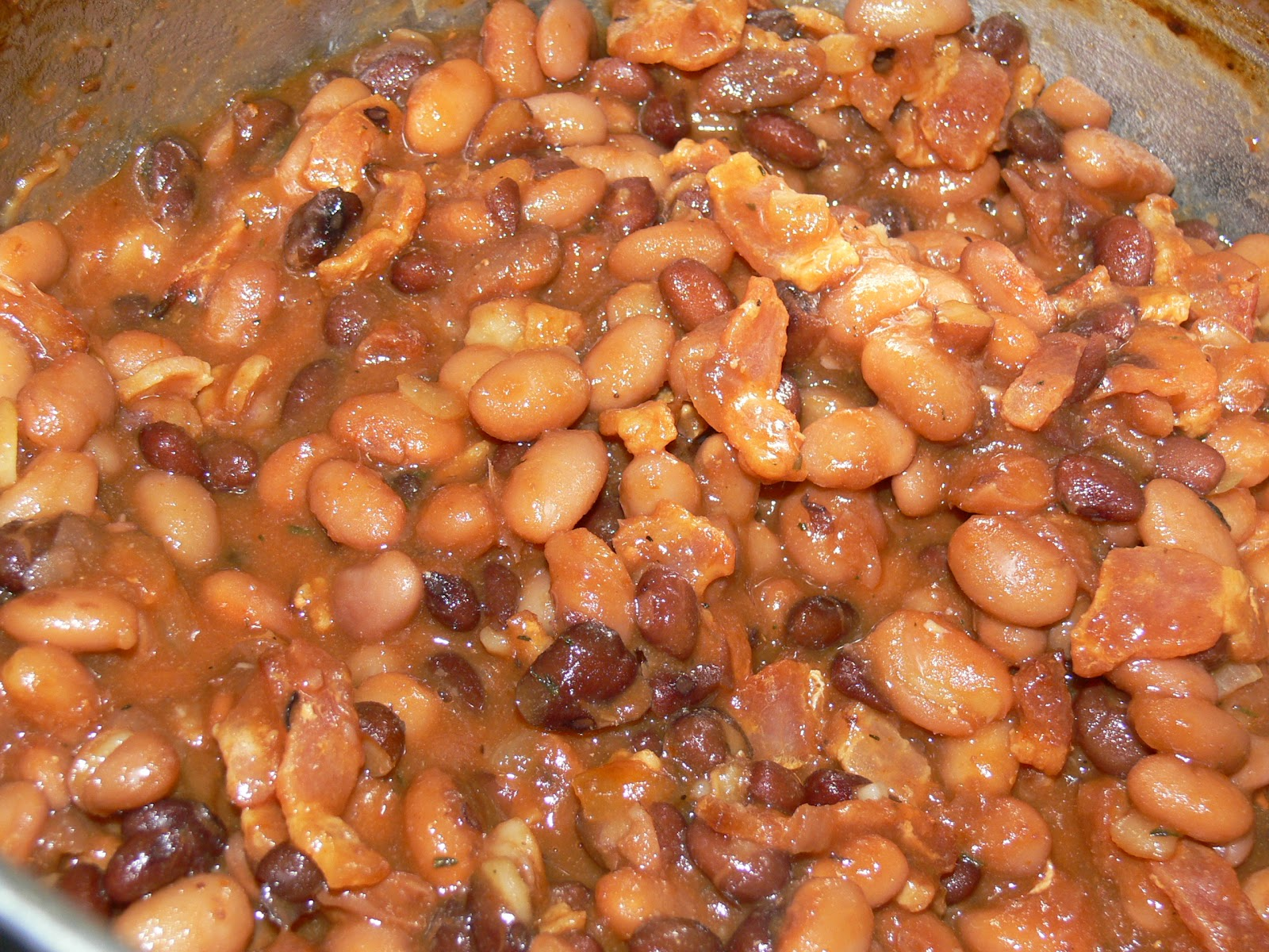 In the Kitchen with Jenny: Three Bean Baked Beans