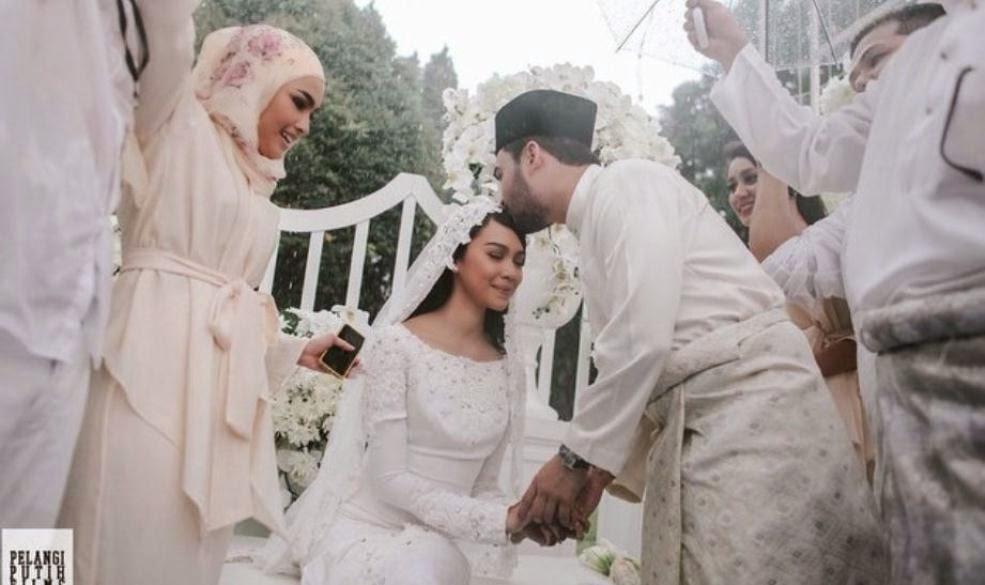 Sharifah Sakinah & Aliff Adha Kini Sah Bergelar Suami Isteri (12 Foto)