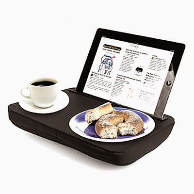 Mesa soporte para iPad negra