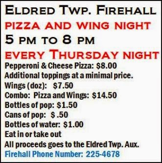 Every Thursday--Pizza & Wing Nite