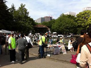 Burmese Water Festival in Hibiya Park, Tokyo