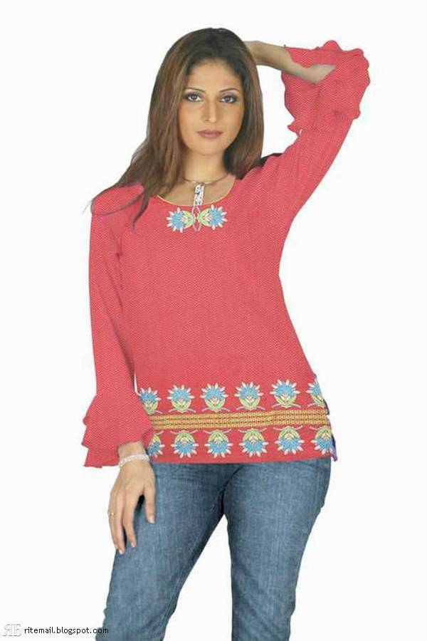 Girls Kurti Jeans Collection 2015 | Fashionip