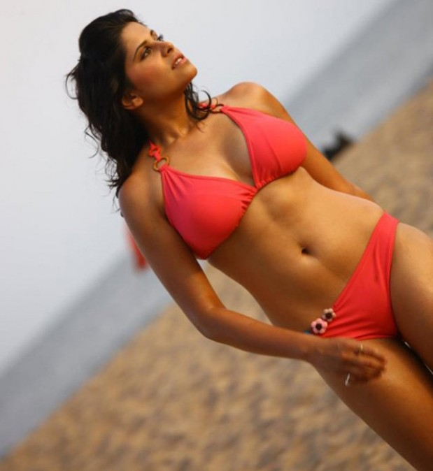 Actress Sai Tamhankar Hot Bikini Photo Shoot Stills
