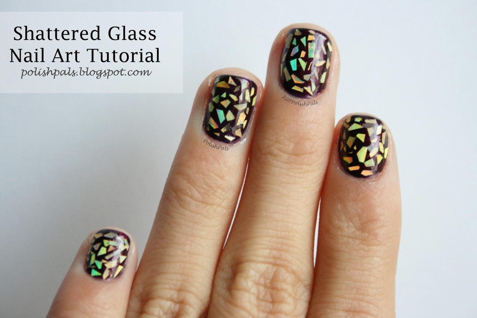 http://polishpals.blogspot.com/2013/12/shattered-glass-nail-tutorial.html