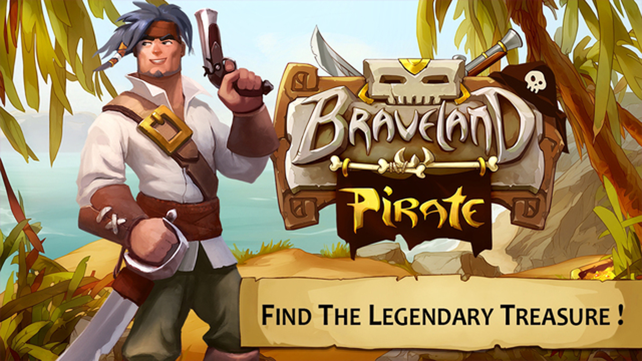 Braveland Pirate Gameplay IOS / Android