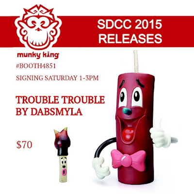 San Diego Comic-Con 2015 Exclusive Original Edition Trouble Trouble Vinyl Figure Set by DabsMyla