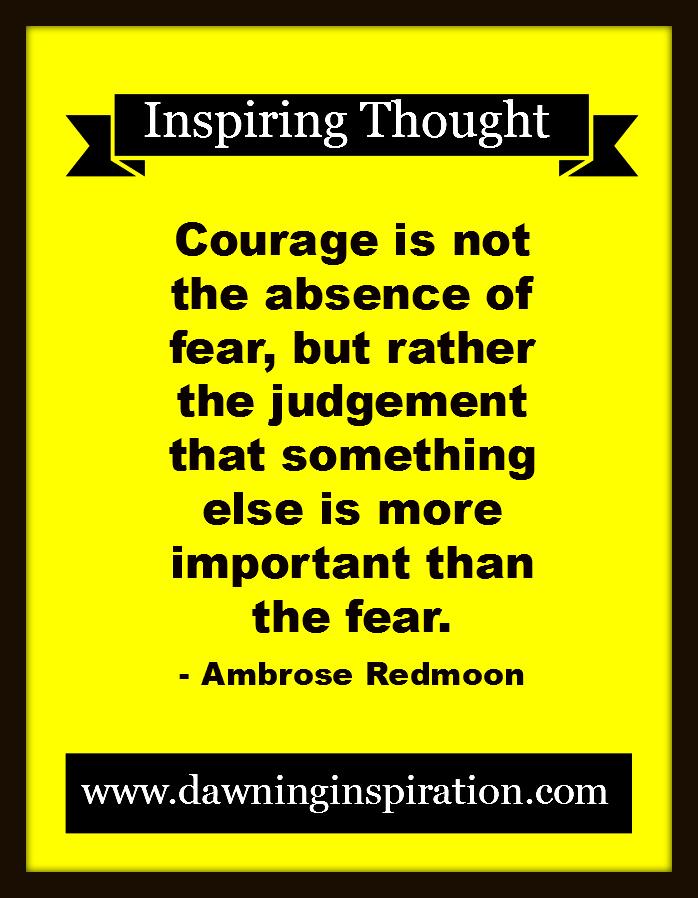 Dawning Inspiration