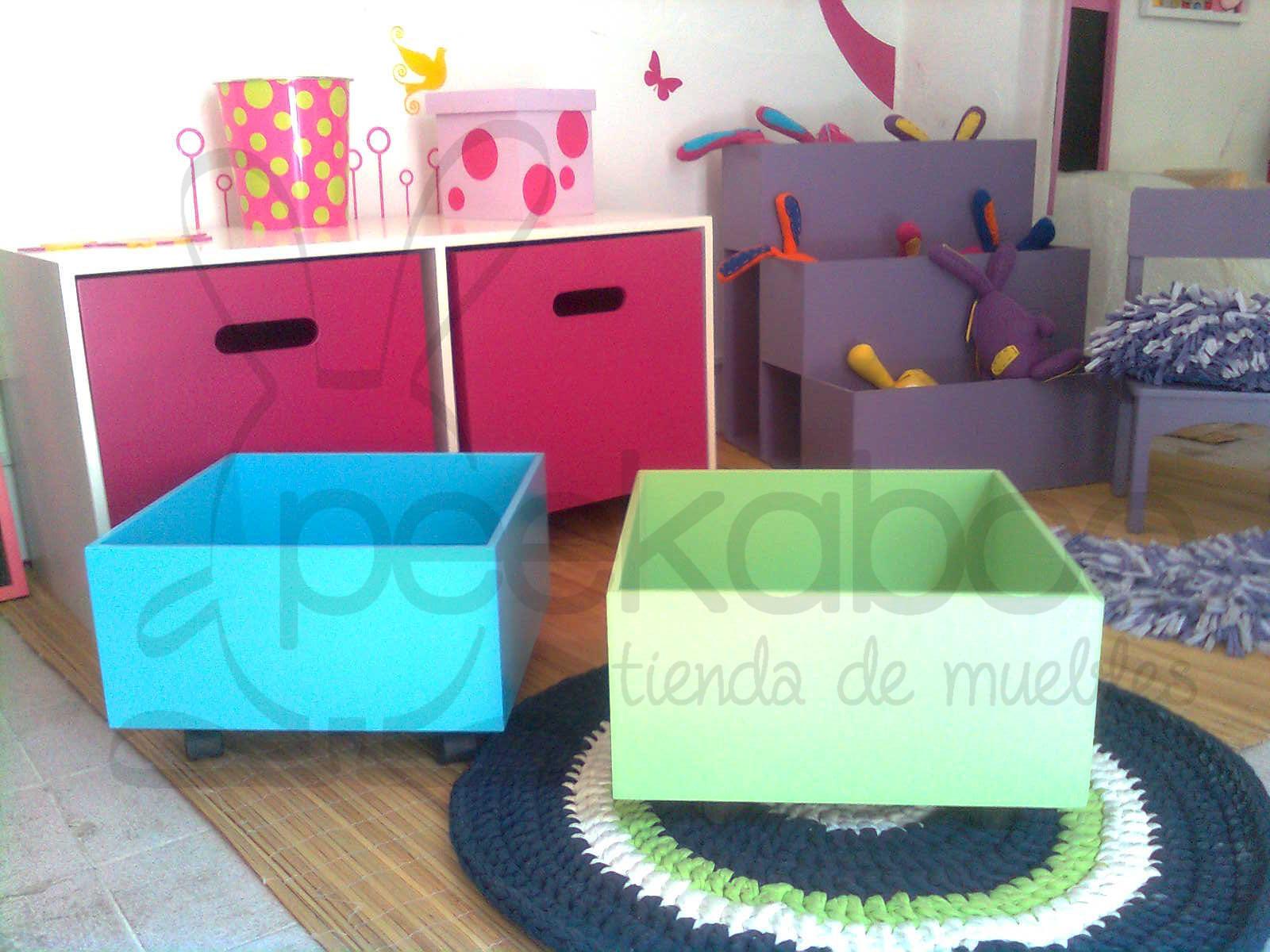 Peekaboo tienda de muebles mesa puente juguetero - Mesa escritorio infantil ...