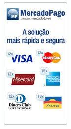 O pagamento é feito por DEPÓSITO BANCÁRIO ou CARTÃO DE CRÉDITO (via MERCADO PAGO)