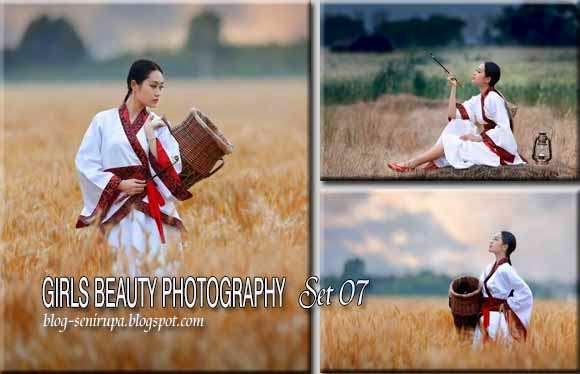 Girls Beauty Photography Set 07