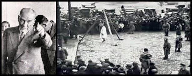 Kemal Atatürk:Dîn'i kullananlarımı yoksa Din alimlerinimi idam ettirdi?