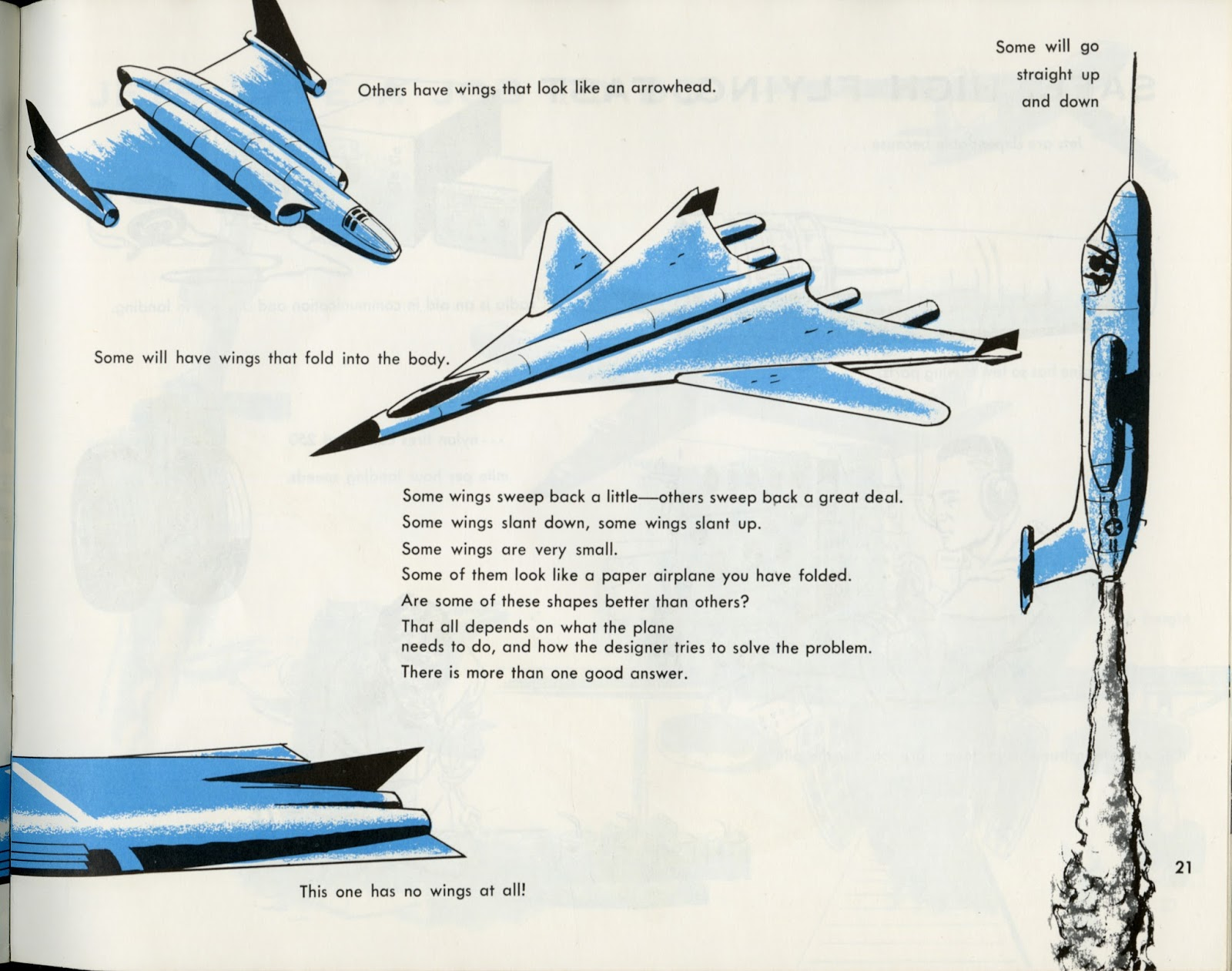 dreams of space books and ephemera jets 1963