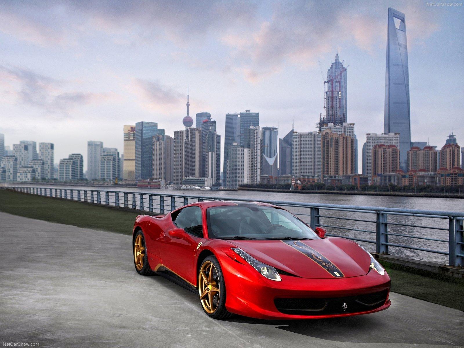 Hình ảnh siêu xe Ferrari 458 Italia China 20th Anniversary 2012 & nội ngoại thất