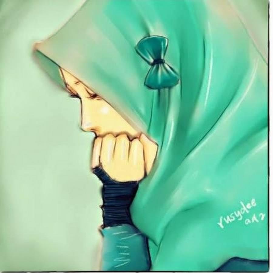 Gambar Kartun Muslimah Kecewa Kantor Meme