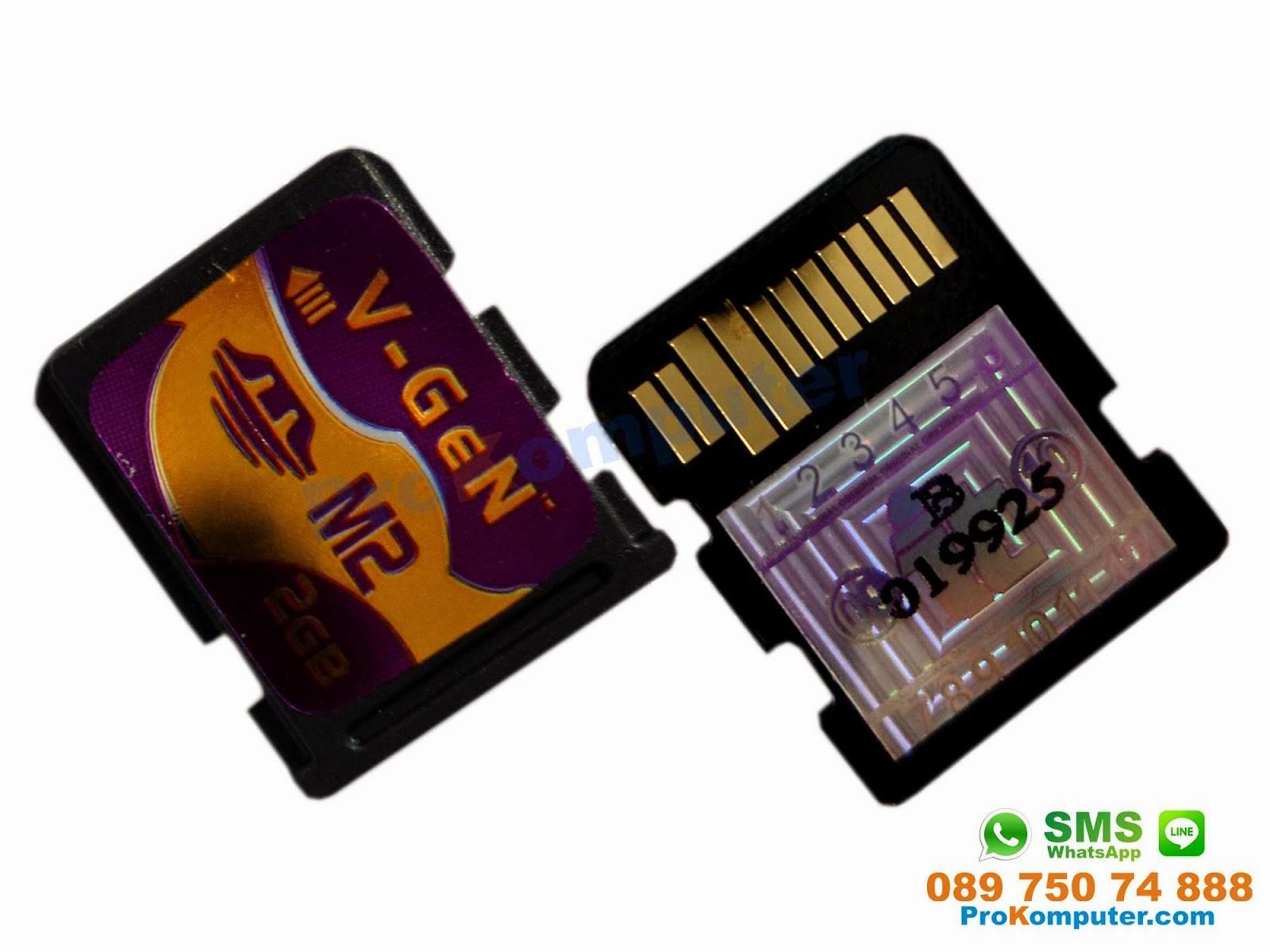 Prokomputer Memory Stick Micro M2 2gb Vgen Idm205x Hei5p 2 Gb