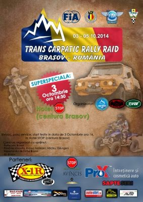 Trans Carpatic Rally Raid 2014