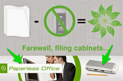 Electronic documents, Paperless Office