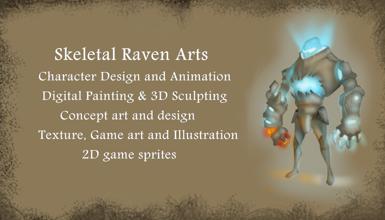 My Progress, Portfolio, Game, Concept Art and Animation: My business ...