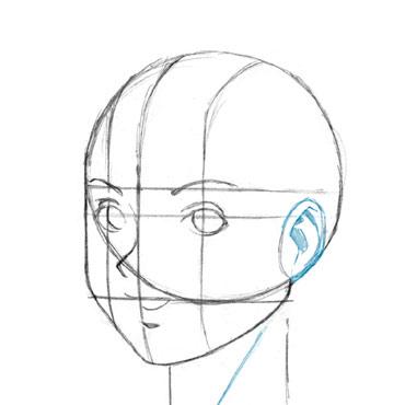 Como desenhar uma cabeça