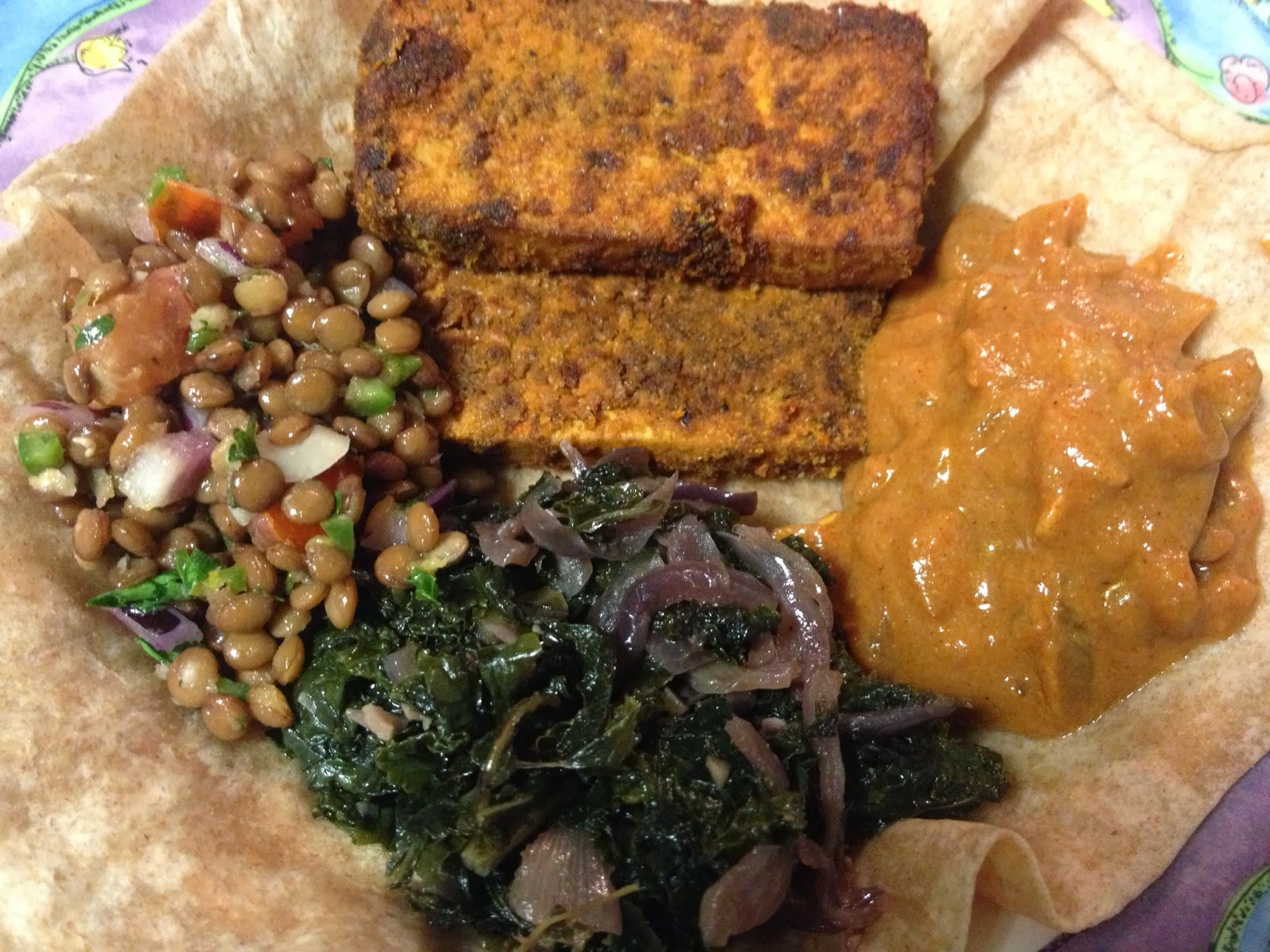 A soy bean vegan ethiopian cookbook recipe testing kitteetest some stews from the first round of cooking with a few additions forumfinder Image collections