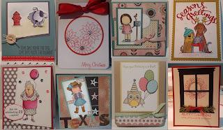 cards, mft cowgirl, pti poinsettia, simon says furry friends, Ai 29