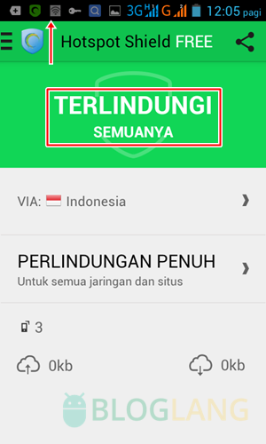 Membuka situs diblokir di Android