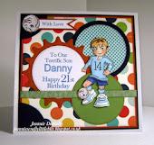 21st Birthday Card - Soccer