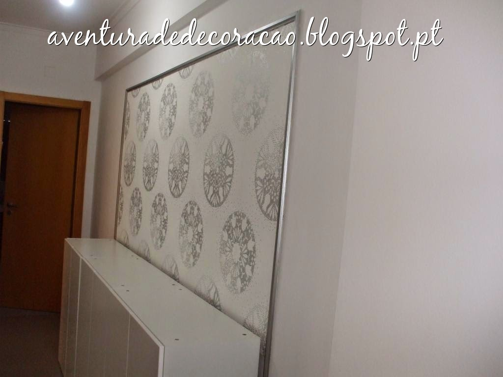 Aventura de decora o a decora o do meu corredor - Papel paredes ikea ...