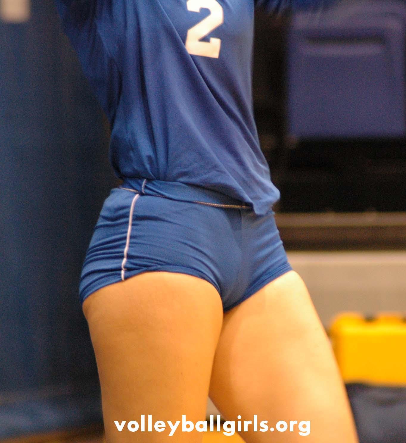 Volleyball spandex voyeur foto