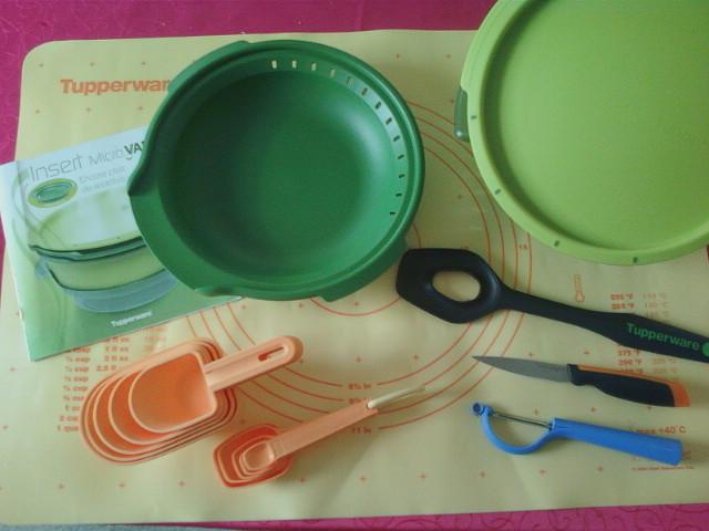 Am lie gourmandises tupperware couscous au micro vap 39 for Tupperware micro vap