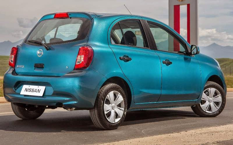 Novo Nissan March 2014 - 2015
