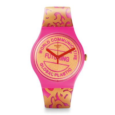 Novo relógio da Swatch - Futuring by  EVA & ADELE parceria