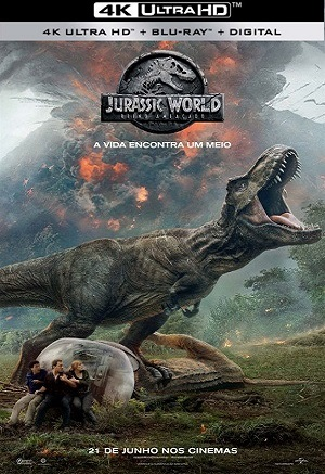 Jurassic World - Reino Ameaçado 4K Legendado Torrent Download