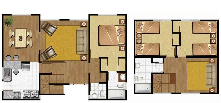 Planos de casas modelos y dise os de casas planos casas for Modelos de casas de dos pisos para construir